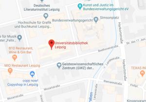 Universitätsbibliothek Albertina - Klick für Routenplaner
